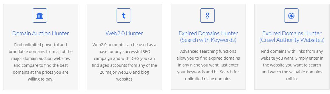 Domain Hunter Gatherer Tools