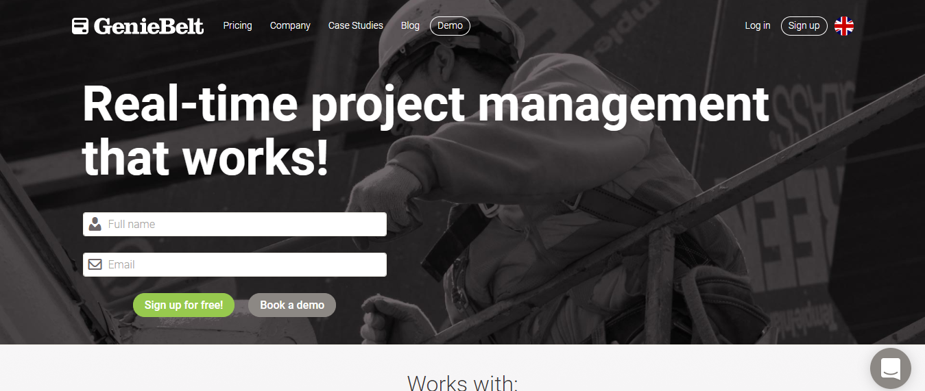 GenieBelt - Construction Project Management Software