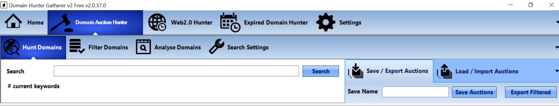 Hunt For Keywords