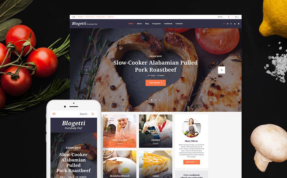 WordPress Theme for a Restaurant Blog