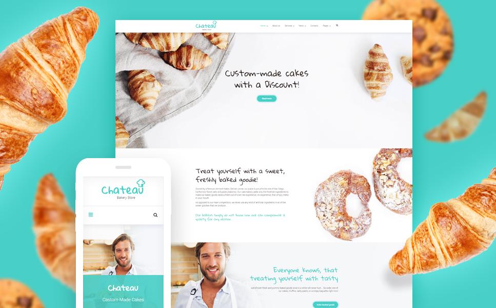 Responsive Bakery WordPress Theme