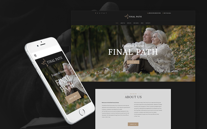 Funeral Services WP Theme