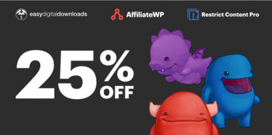 Black Friday Deal For Easy Digital Downloads,AffiliateWP & Restrict Content Pro