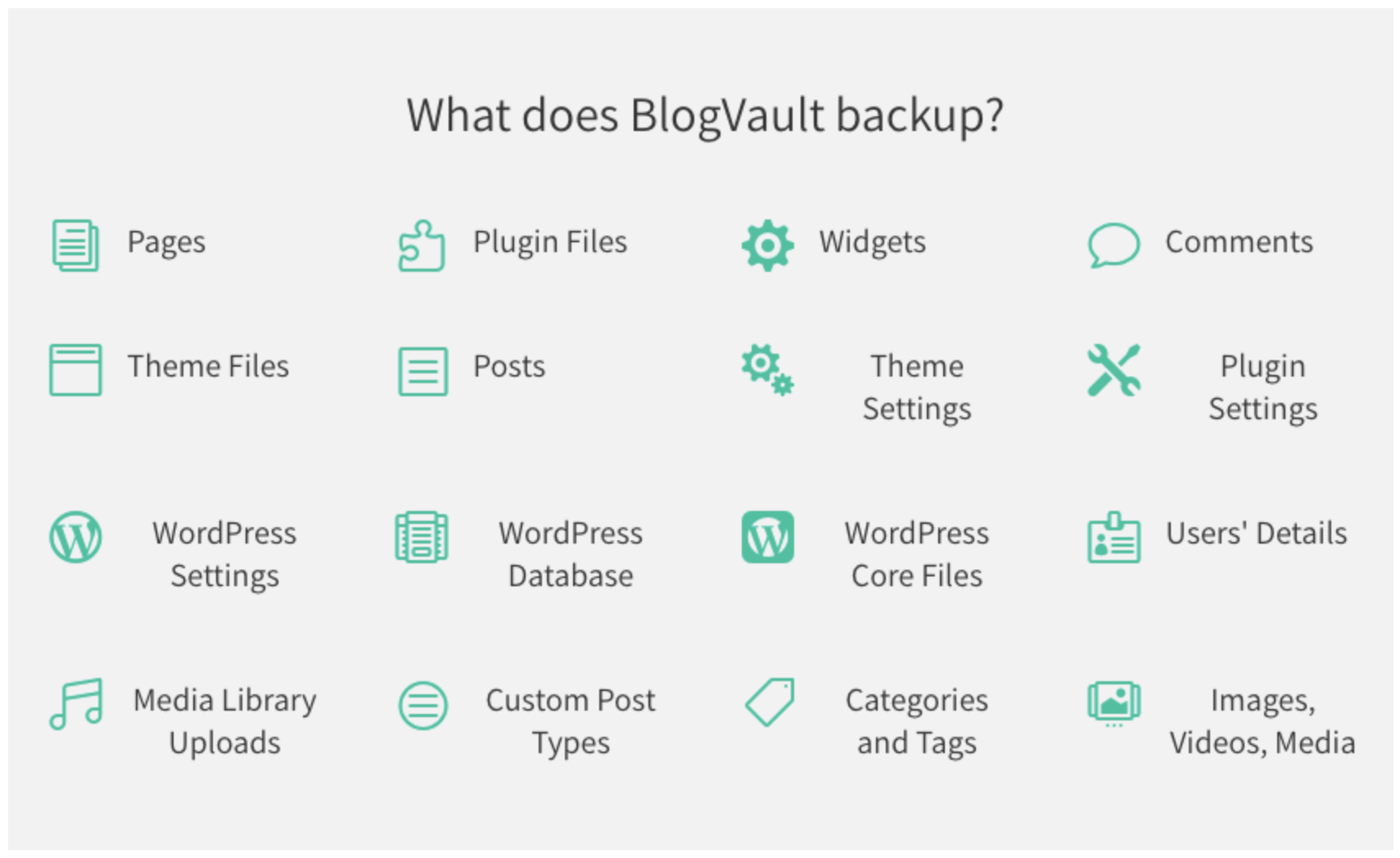 BlogVault backup