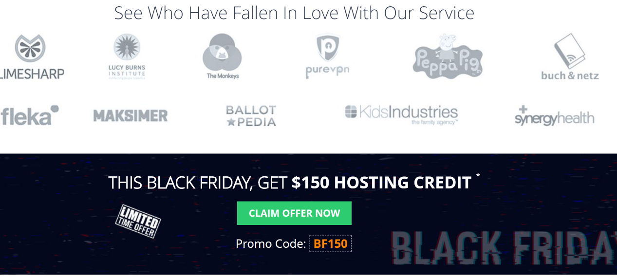 Cloudways Black Friday & Cyber Monday Deal