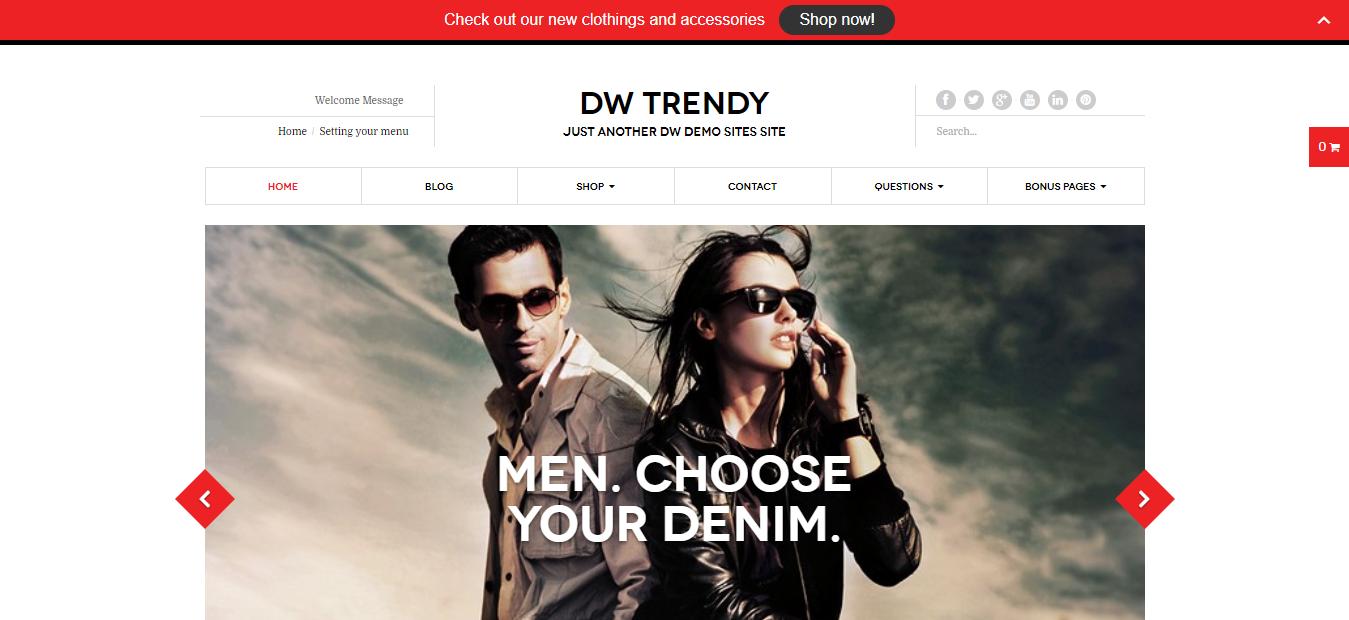 DW Trendy -WordPress Notification Plugin