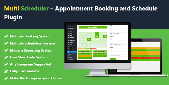 Multi Scheduler – Appointment Booking