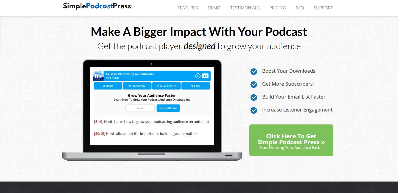 Simple Podcast Press - WordPress Podcast Plugin