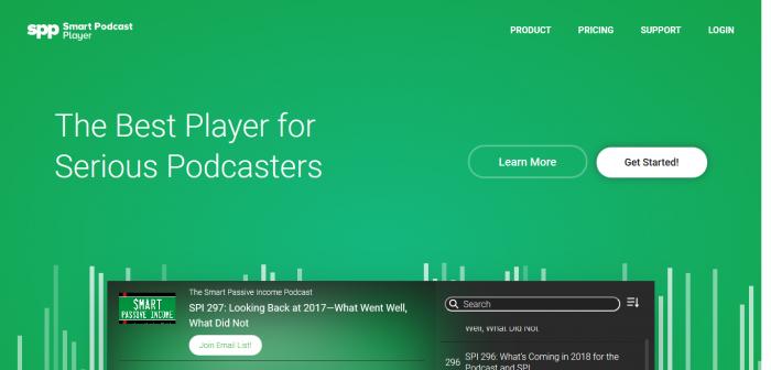 Smart Podcast player - Best Wordpress Podcast Plugin