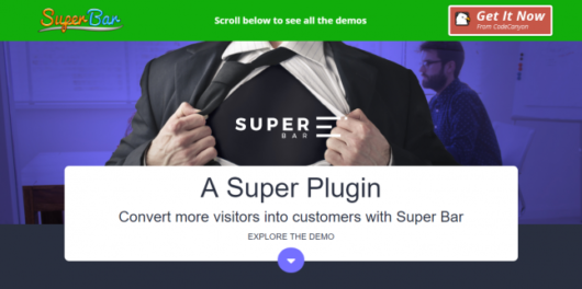 Superbar -WordPress Notification Plugin