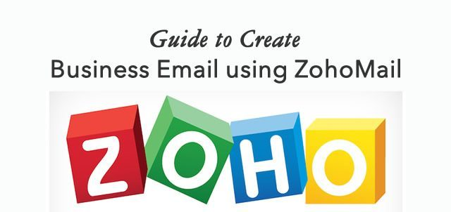 Create business email using ZohoMail