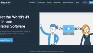 GetAmbassador – $100 to $400 per referral