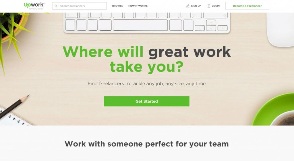 upwork freelancer jobs