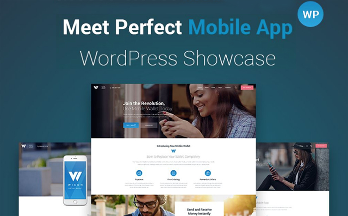 Wicon - Software Application WordPress Theme
