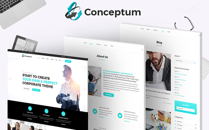 Conceptum - Responsive WordPress Theme