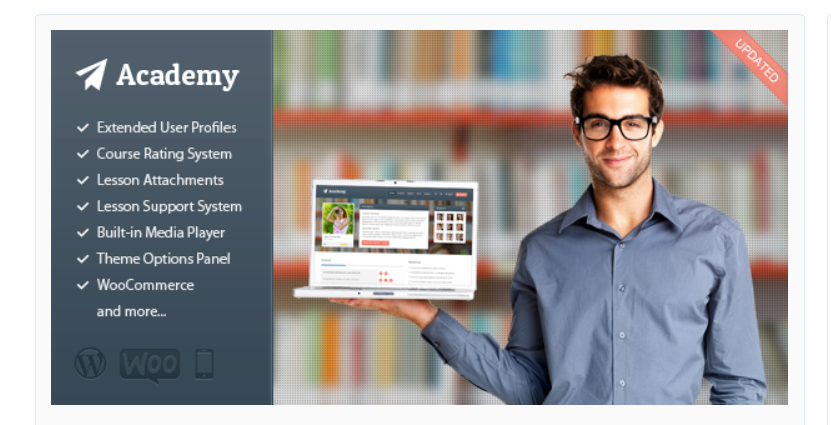 Academy Learning Management Theme - Build An Online Course With WordPress