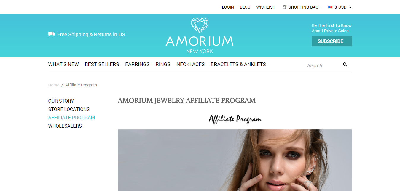 Amorium Affiliate Program