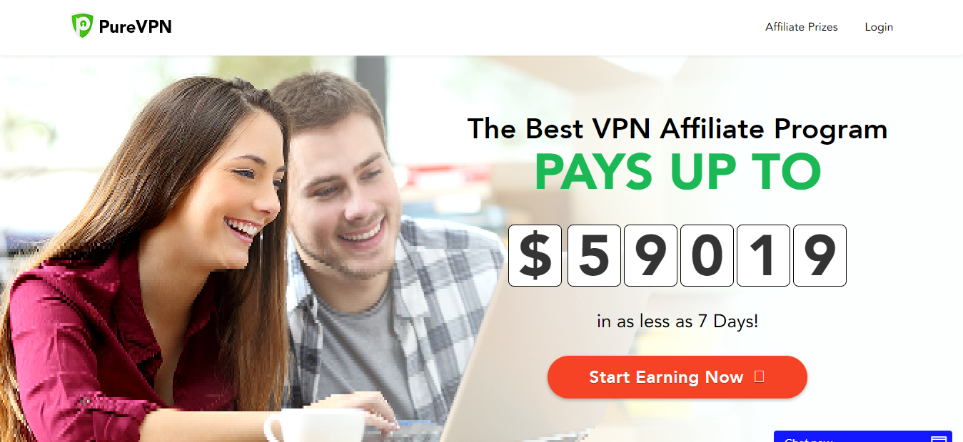 Best High Paying VPN Affiliate Program - PureVPN Affiliate Program