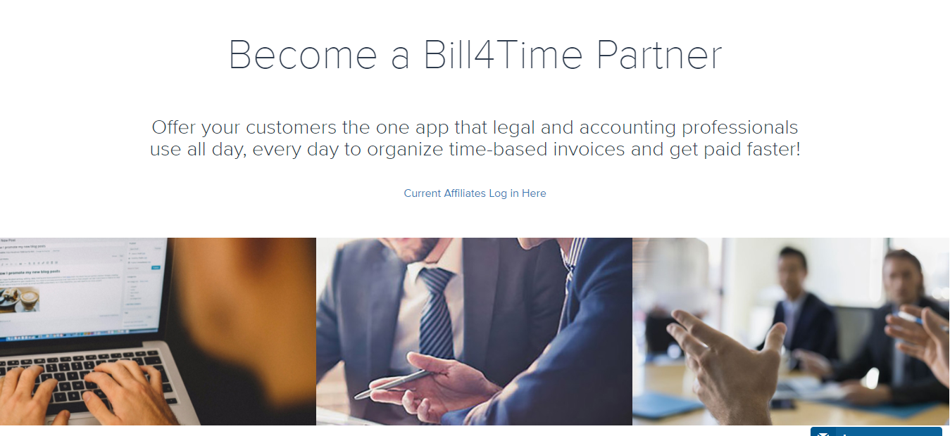 Bill4Time Software Affiliate Program