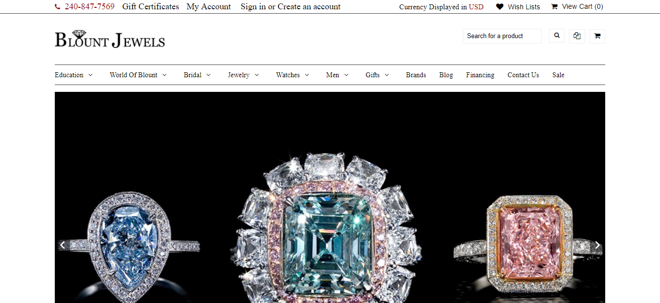 Blount Jewels - Jewellery Affiliates Program