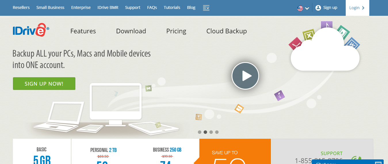 Cloud Backup For Widnows - IDrive