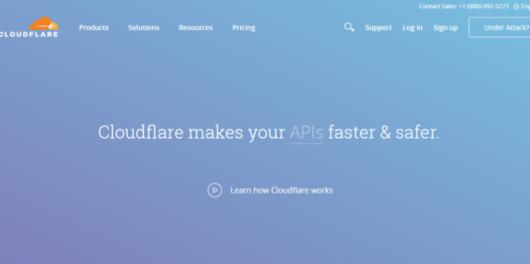 Cloudflare - Web Hosting