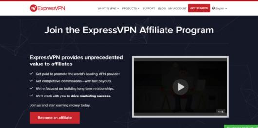 ExpressVPN Affiliate Program