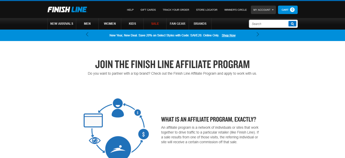 Finish Line - Real Estate Affiliate Program