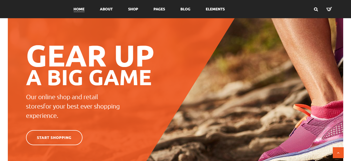 GYM Sport Store - WordPress Sports Theme