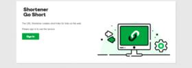 Godaddy URL Shortener