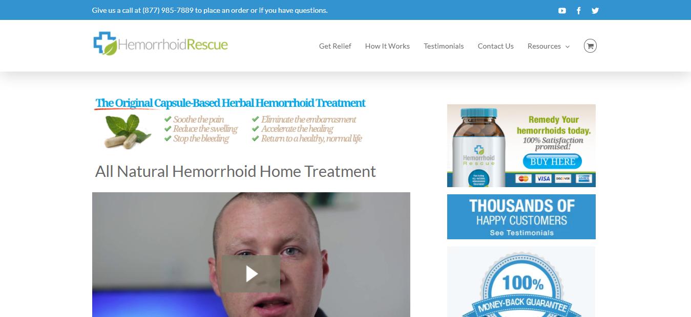 Health Affiliate Program - Hemorrhoid Rescue