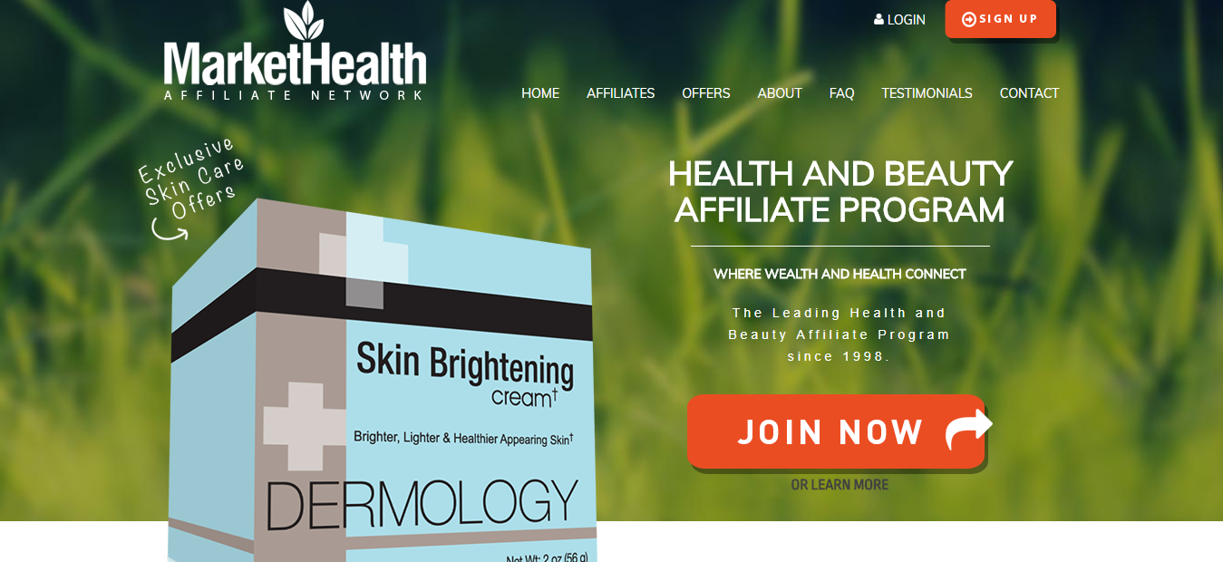 Health and Beauty Affiliate Programs by MarketHealth com