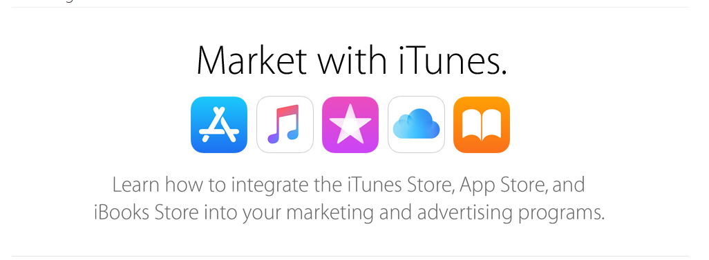 Market with iTunes Affiliate Program