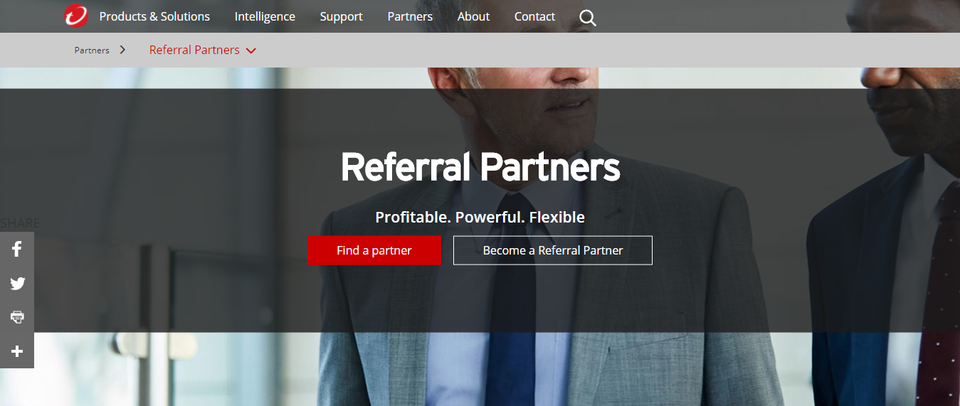 Referral Partners Cyber Security - Trend Micro