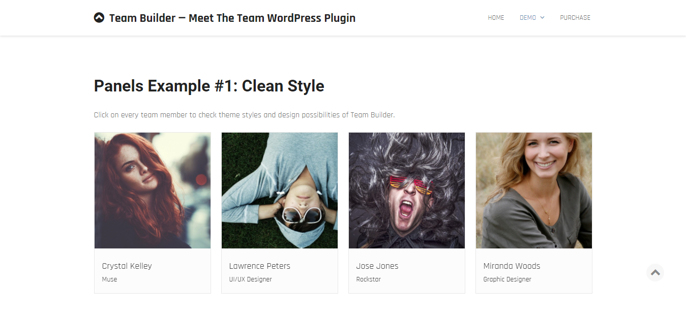 Team Builder WordPress - Management Plugin