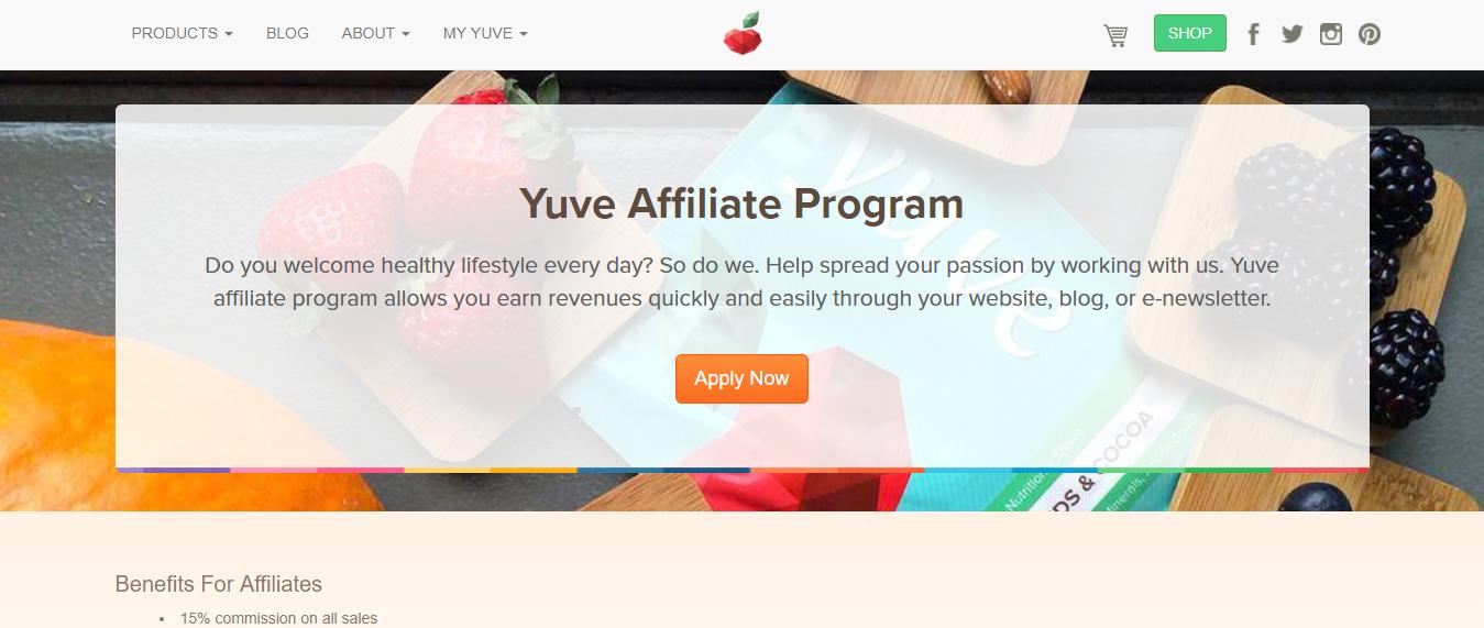 Yuve Health Affiliate Program