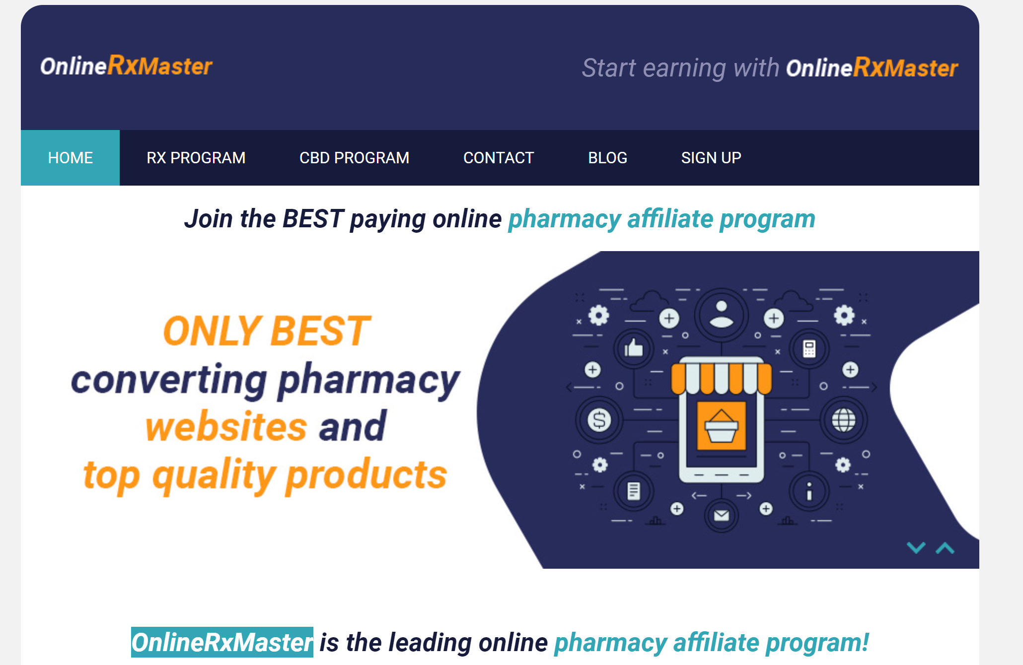 onlinerxmasters Top Natural Health Affiliate Programs