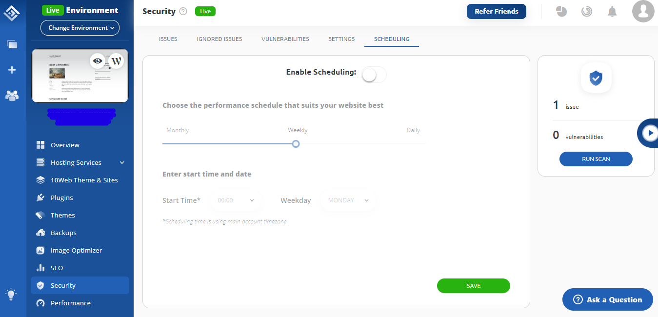 10Web_Security_Scheduling