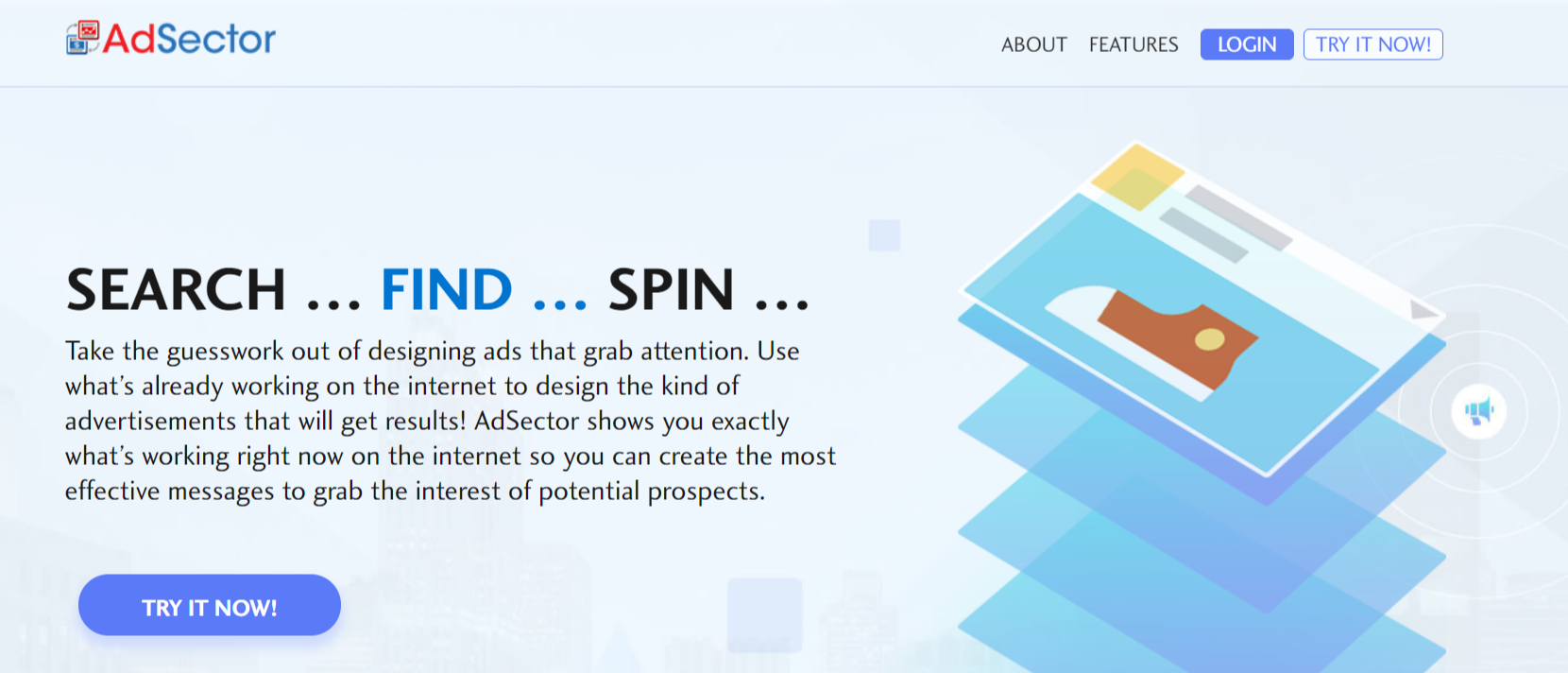 AdSector- Best Ads Spy Tools