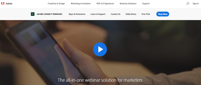 Adobe Connect- Webinar Softwrae