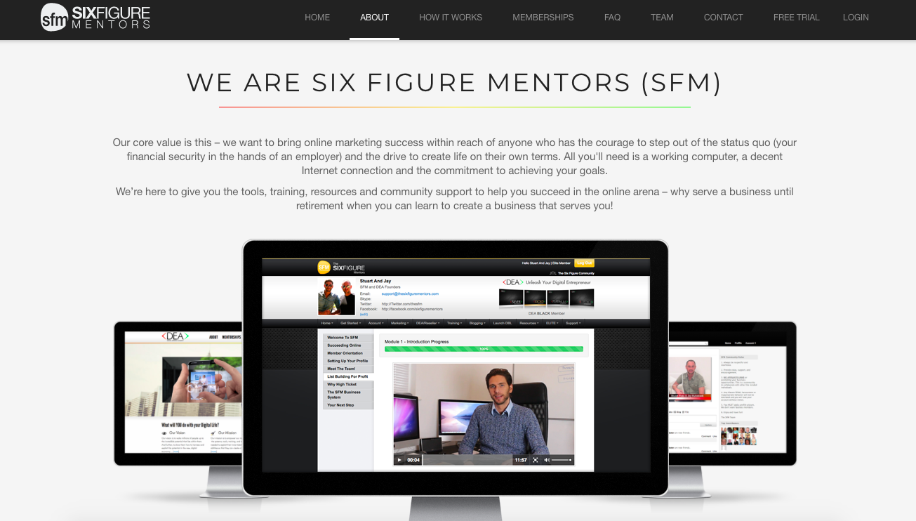 Affiliate Programs Six-Figure-Mentors