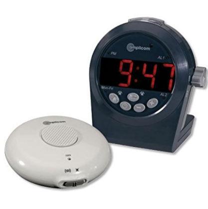 Amplicom TCL-200 Digital Alarm Clock for heavy sleepers