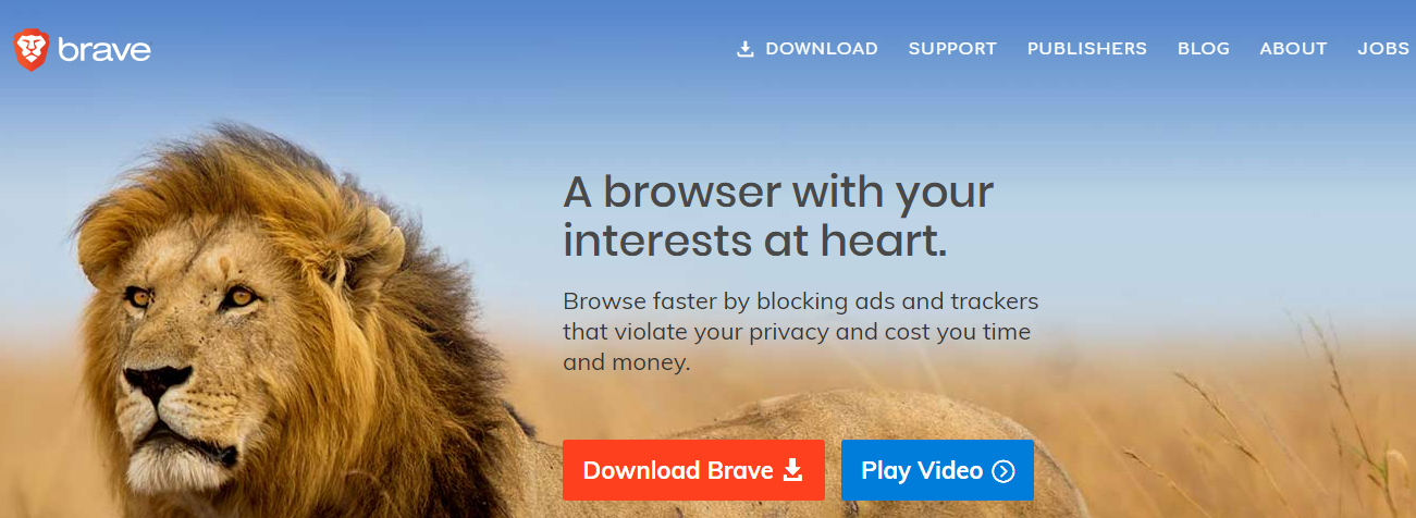 Brave Browser- Best Android Browser