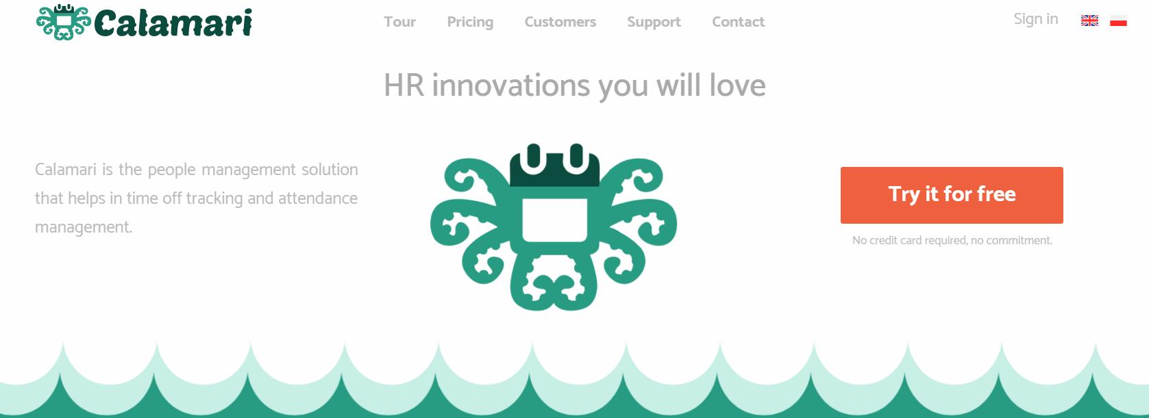 Calamari Review - Leave management System
