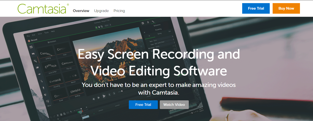 Camtasia - Screen Recording Software