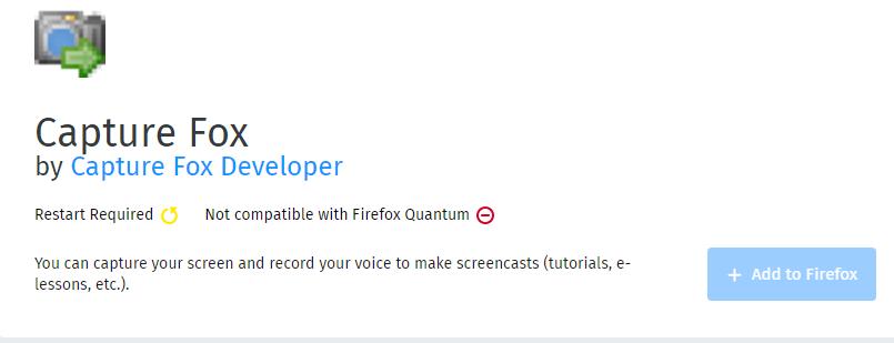 CaptureFox- Screen Recording Software