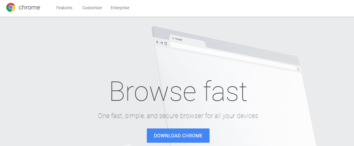 Google Chrome- Best Android Browser