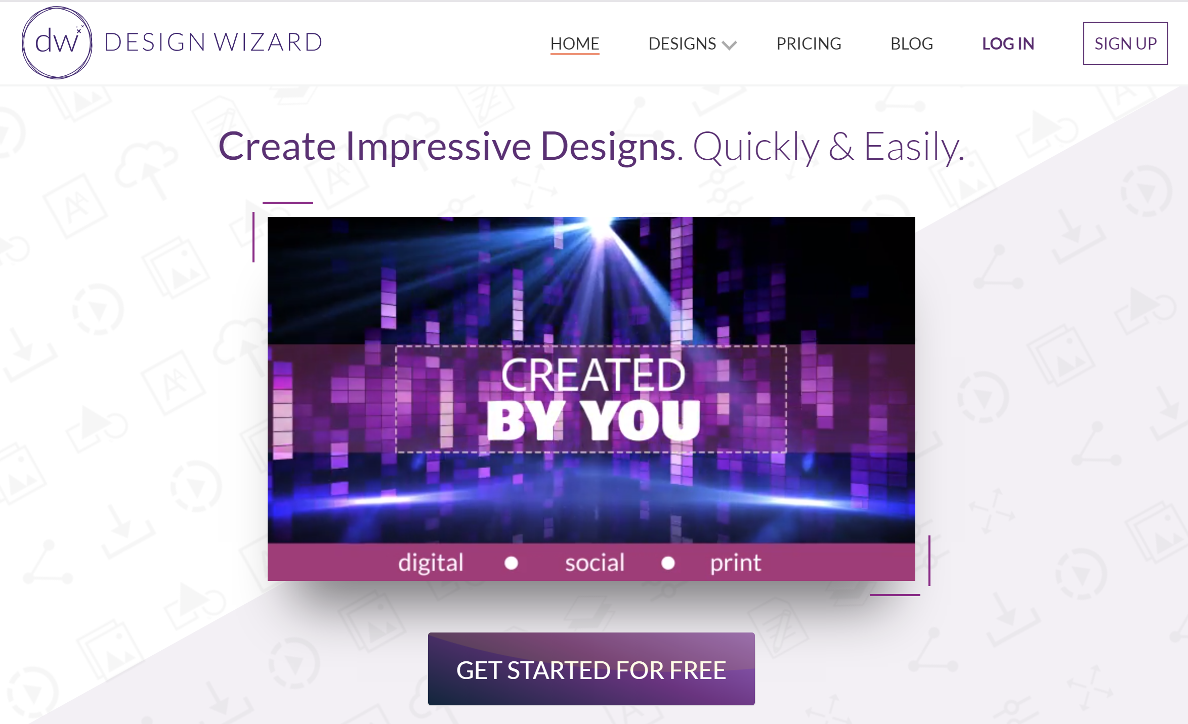 Designwizard - Facebook Graphic