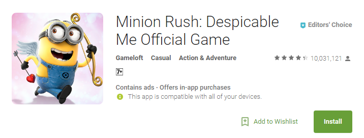 Despicable Me- Best Offline Games