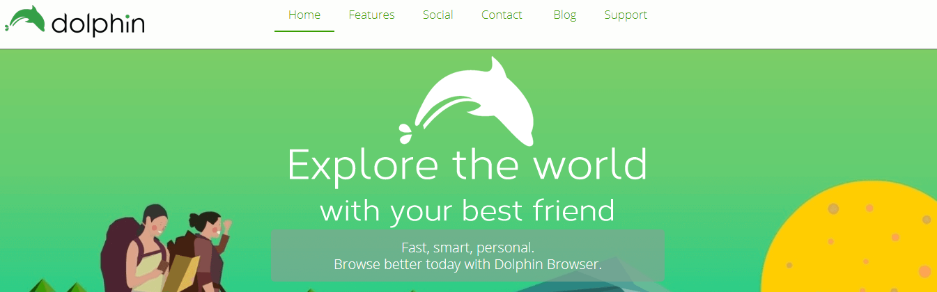 Dolphin Browser- Best Android Browser